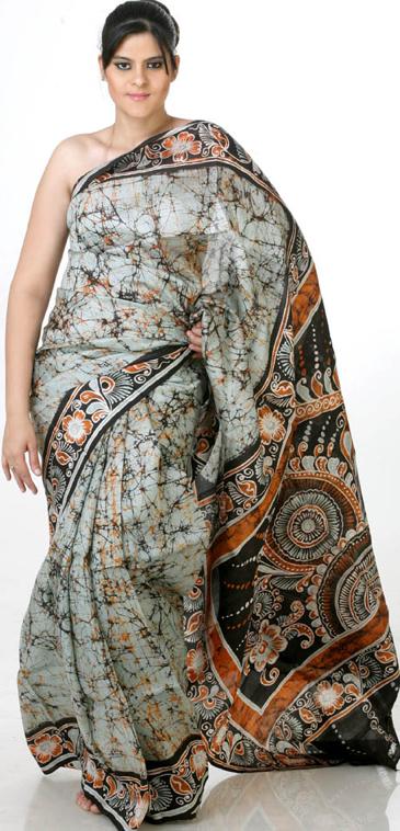 Batik Sarees 171 Beautyballs